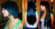 Накладные волосы  ГУСТЫЕ