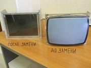 Замена мониторов ЭЛТ CRT на LCD TFT ЖКИ на системах ЧПУ станка ремонт