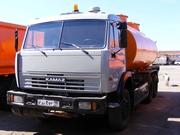 Автоцистерна бензовоз Камаз 66052,  17 куб.