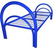 Двухъярусные железные кровати для рабочих по низким ценам оптом.