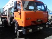 Автовышка АГП 28,  на базе Камаз 53212
