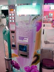 Торговый автомат кислородного коктейля