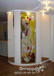 Декорирование стекол в интерьере