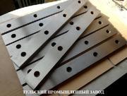 Шлифовка промышленных ножей, изготовление 510х60х20мм,  520х75х25мм